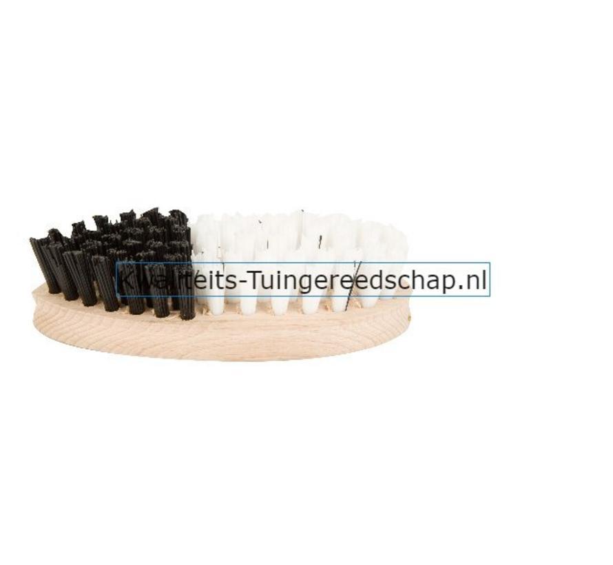 Groentenborstel Wit/Zwart
