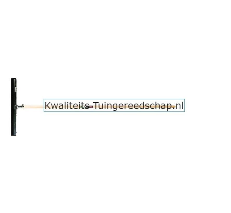 Vloertrekker 550 mm Natuur Zwart met Steel