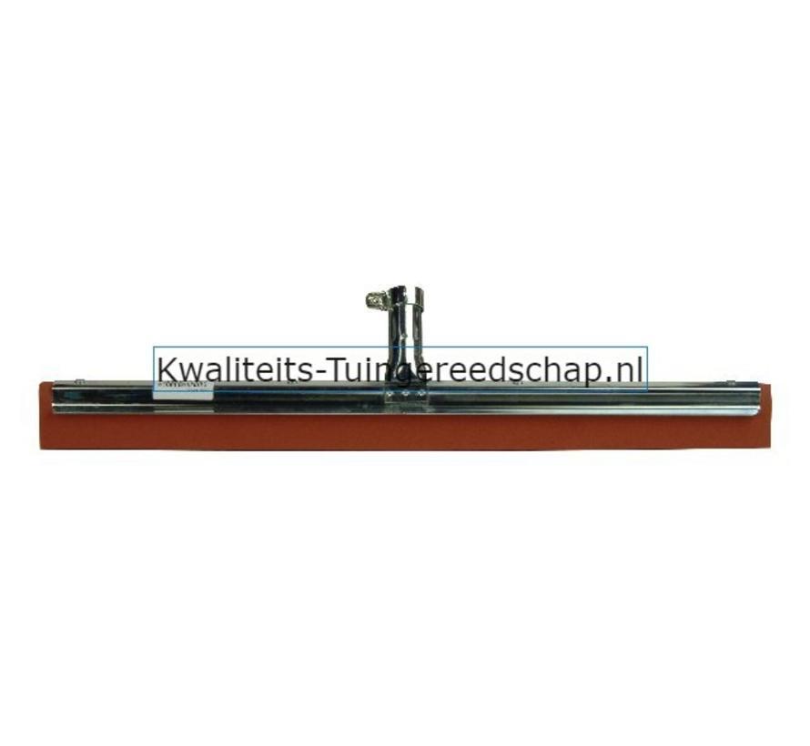 Vloertrekker Industriëel 550 mm Natuurrubber Rood