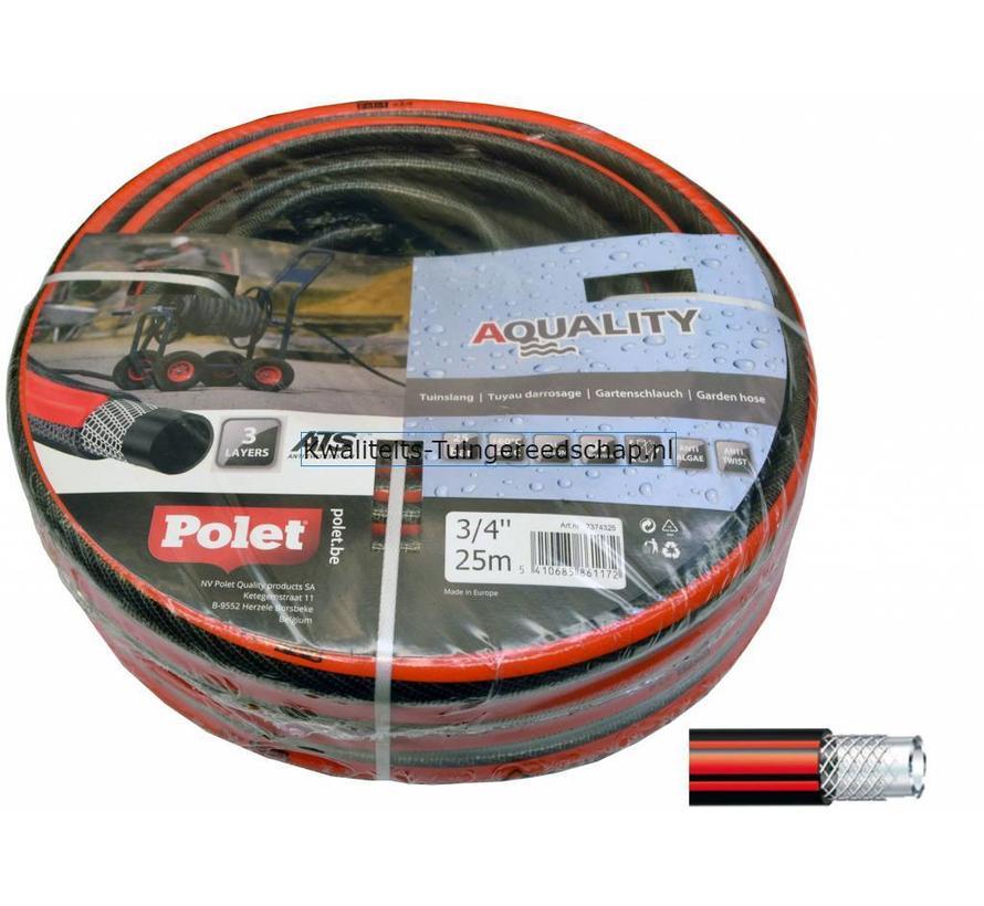 "Tuinslang 3/4"" (19 mm) 25 m Pro Aquality"