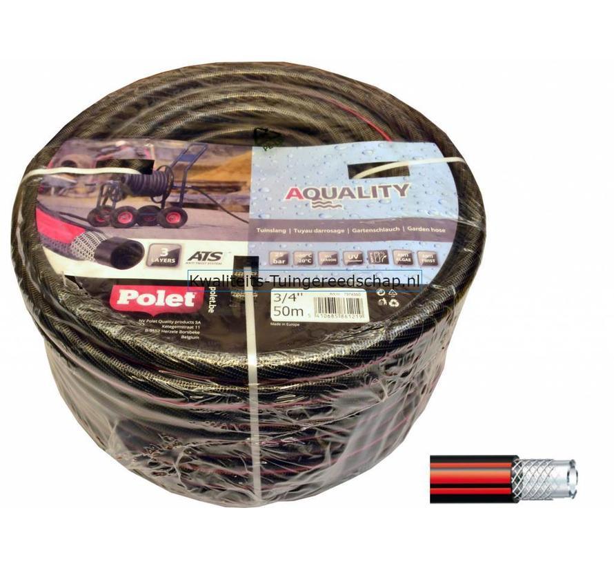 "Tuinslang 3/4"" (19 mm) 50 m Pro Aquality"