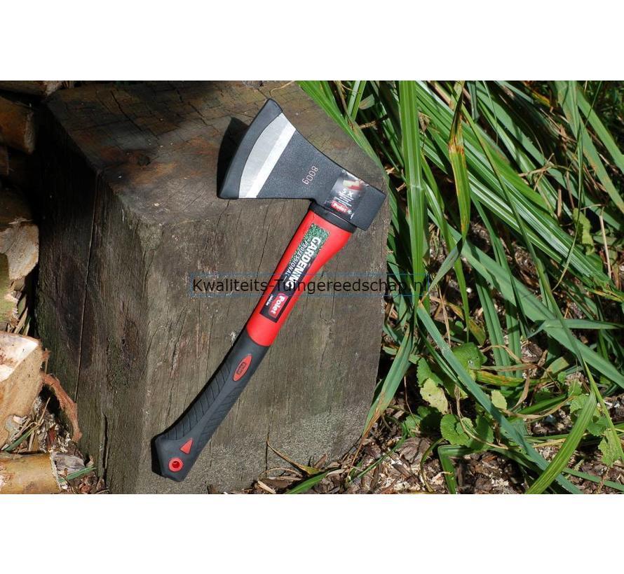Gesmede Handbijl 800 Gram met Kern Fiber 5001 Steel