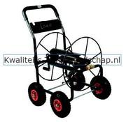 "Polet Professionele Slangenwagen 4 Flatfree banden Capaciteit 3/4""-110 m"