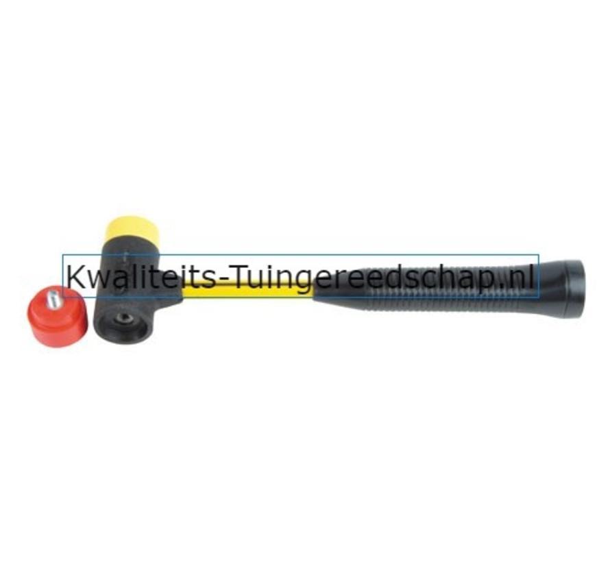 NUPLA Soft-Face Hamer 40 mm voor Verwisselbare Doppen