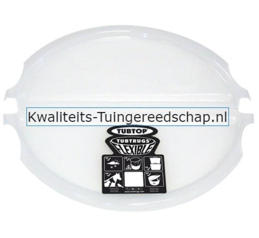 Tubtrug deksel Transparant  L 42 Liter