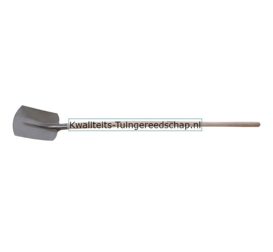 HANDGESMEDE TRADITIONAL ZANDSCHOP NR. 2 MET STEEL