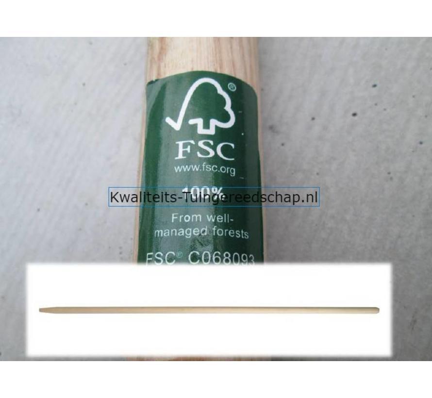 Raaksteel/harksteel/schoffelsteel FSC 1500/28 Gepunt Wax
