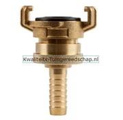 Polet Klauwkoppeling Slang Lekvrij Messing 1/2 13 mm