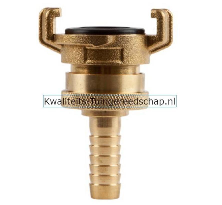 Klauwkoppeling Slang Lekvrij Messing 1/2 13 mm