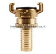 Polet Klauwkoppeling Slang Lekvrij Messing 3/4 19 mm