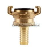 Polet Klauwkoppeling Slang Lekvrij Messing 5/8 15 mm