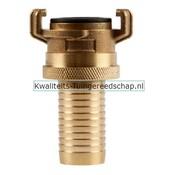 """Polet Klauwkoppeling Slang Lekvrij Messing 1"""" 25 mm"""