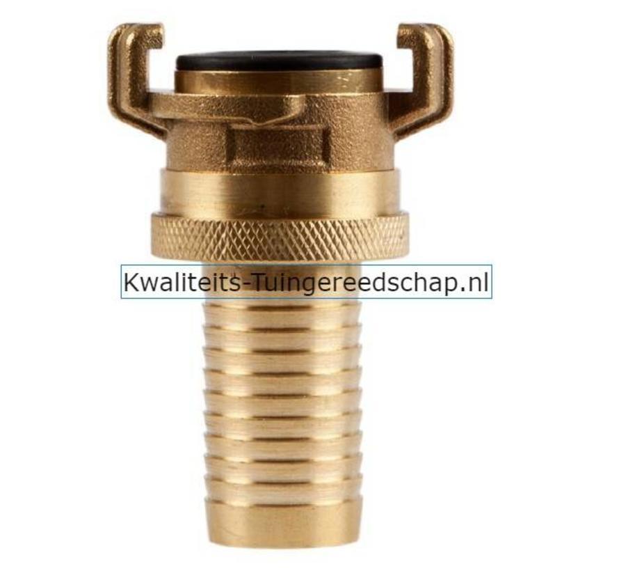 "Klauwkoppeling Slang Lekvrij Messing 1"" 25 mm"