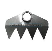 Traditional Polet Handgesmede Hak 220 mm 4 Tanden