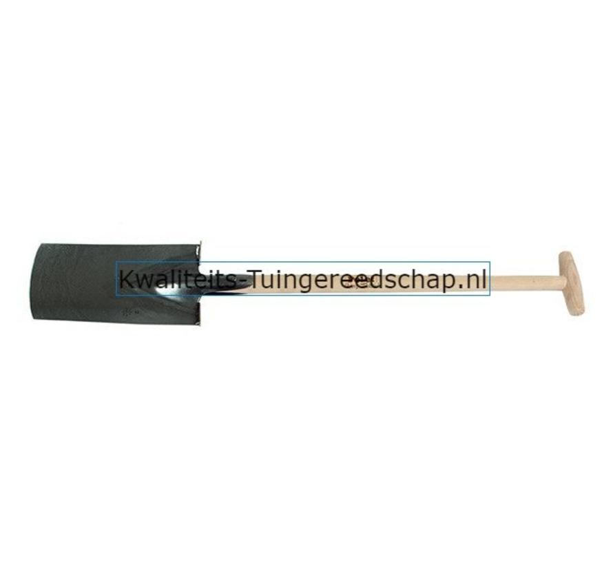 Handgesmede Tuinspade / Moestuinspade 310/170 T-Steel