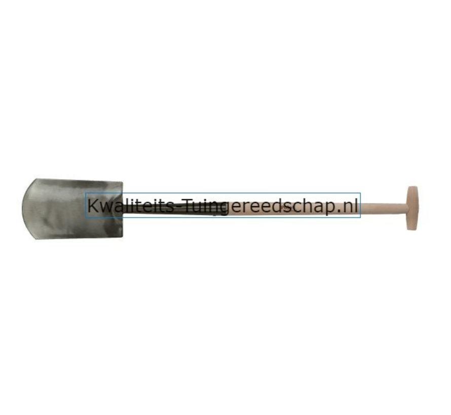 Handgesmede  Spade Zwanenhals 280/150/165 T-Steel 75 cm