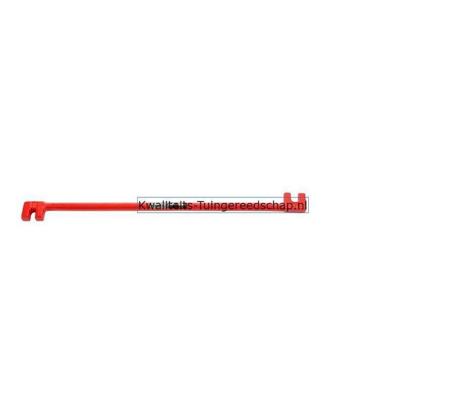 Grif Dubbel Polet 10/12 mm Plooi-ijzer 10/12 mm