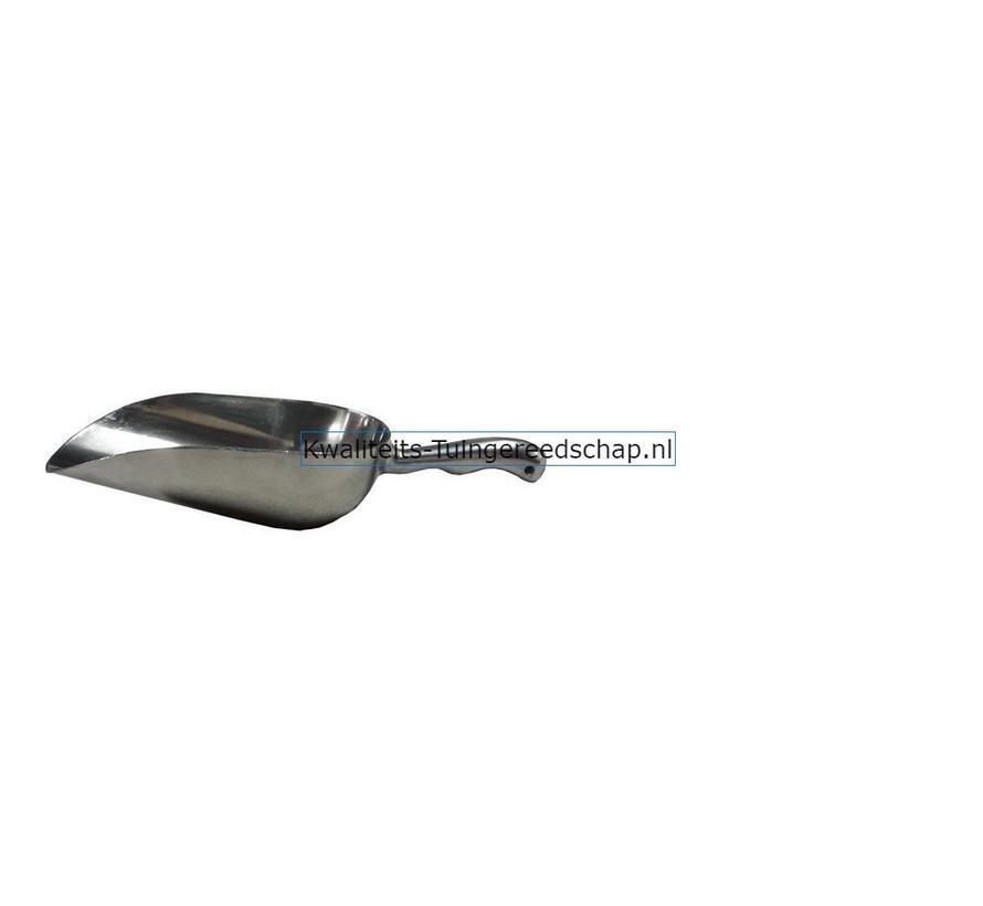 Meelschep-Voerschep Aluminium Capaciteit 750 Gram