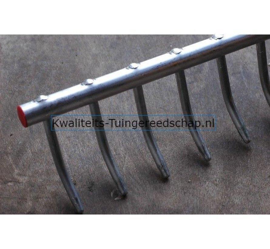 Landhark Polet Aluminium 17 Tanden 760 mm Profi met Steel