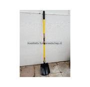 Kwaliteits-tuingereedschap Bats Drents 00/35 Bol Steel 115 cm  Fiber 3001 2 Voetsteunen