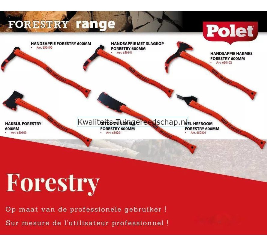 Handsappie Hakmes Forestry 600 mm