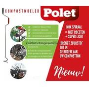 Polet Compostwoeler Polet 120 cm Inox
