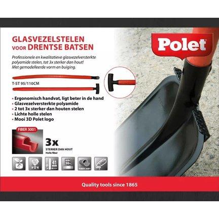 gesmede spade's met steel Fiber 3001 voor normaal  gebruik