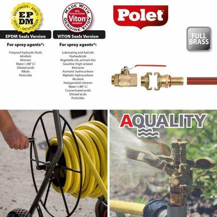 Watertechniek, alle koppelingen, alle systemen voor alle toepassingen