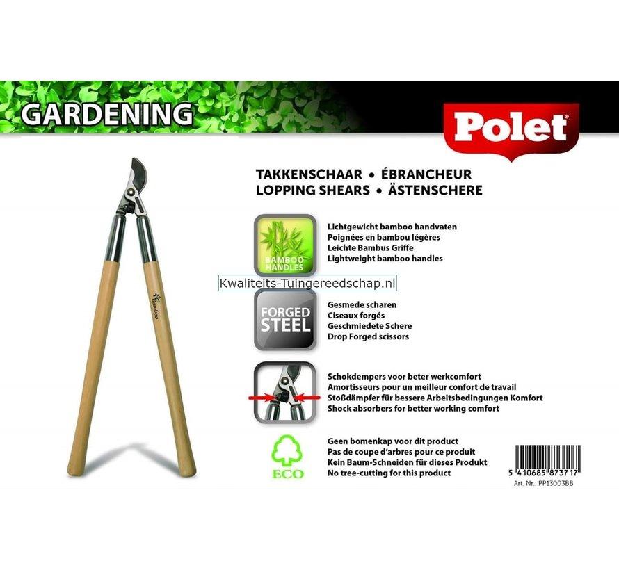 Takkenschaar Bamboe Pro 710 mm Cap. 42 mm