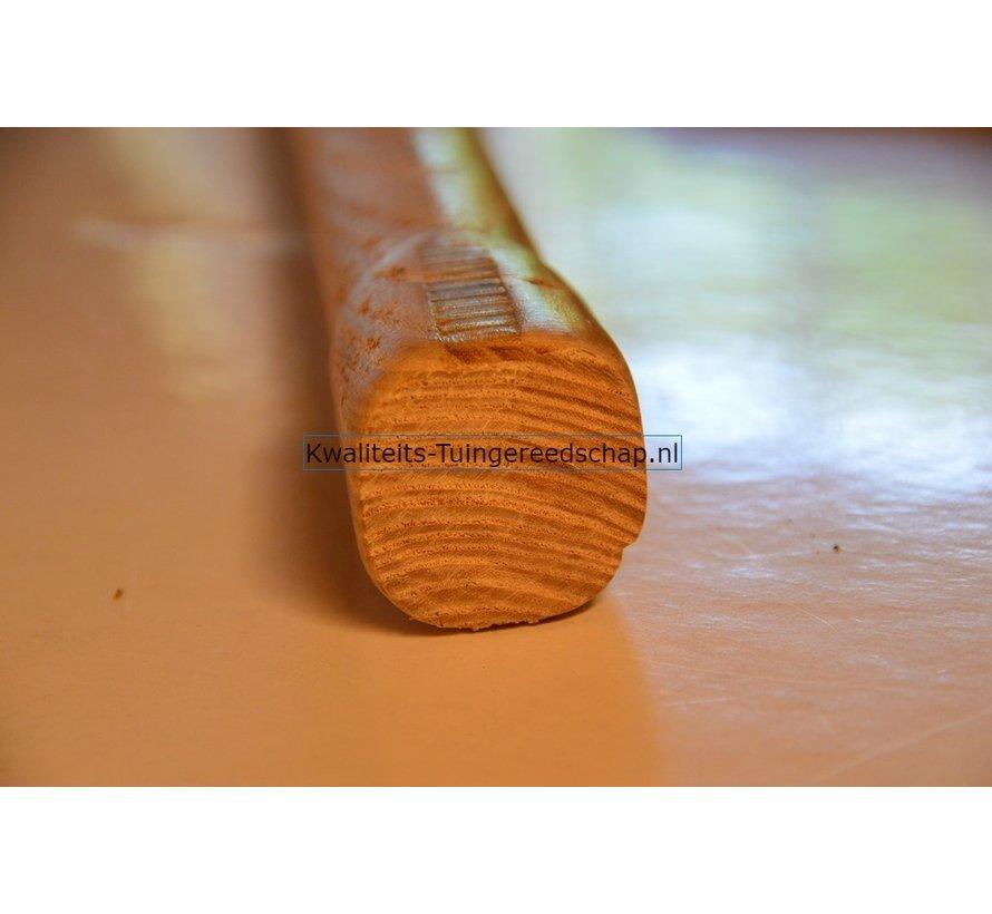 Steel voor Tuinhamer Rond 1000 x 34 mm Uiteinde Vierkant 44 x 44 mm Essenhout