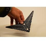 Polet Reserveblad Vleugelschoffel Carbonstaal 220 mm