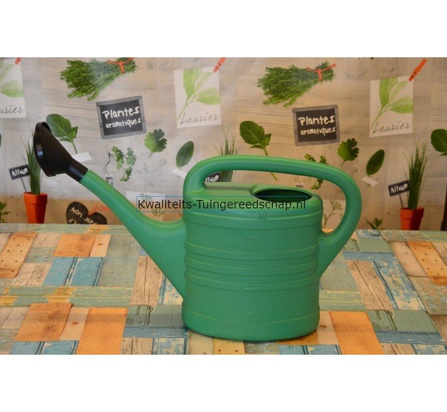 Gieter Kunststof 10 liter met sproeikop
