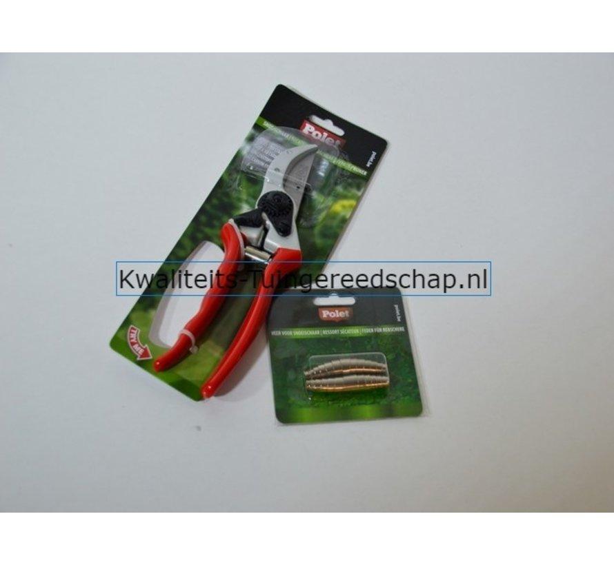 Geschenkset Snoeischaar Type 2 - 210 mm - met reserve veren