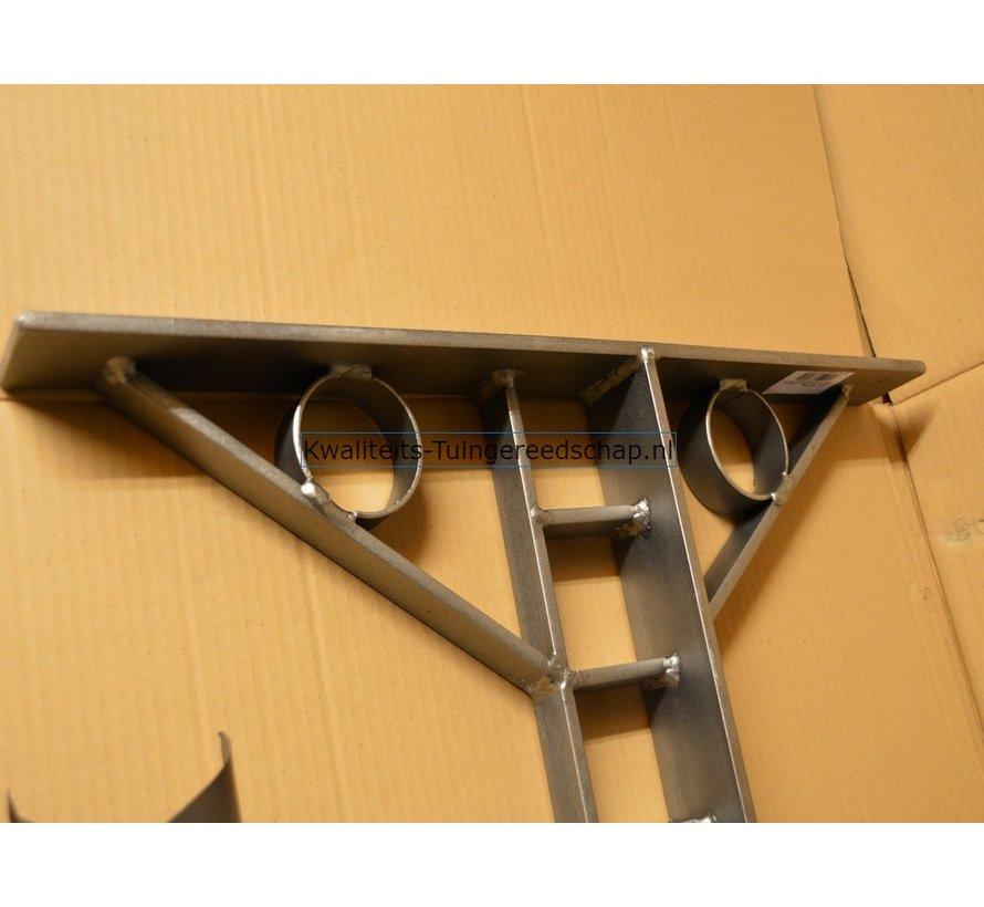 Handgesmede Steunlat 90 cm voor Krekelstuk