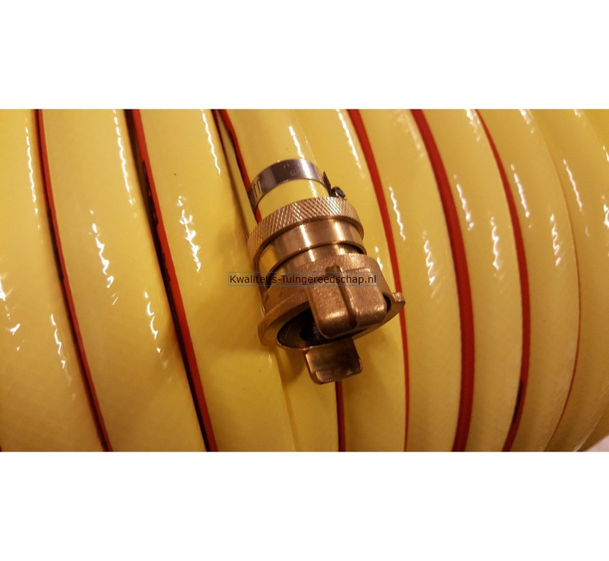 Klauwkoppeling Slang Lekvrij Messing 5/8 15 mm