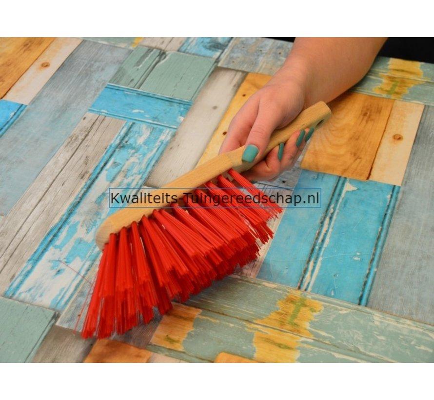 Handborstel 320 mm Elaston Rood