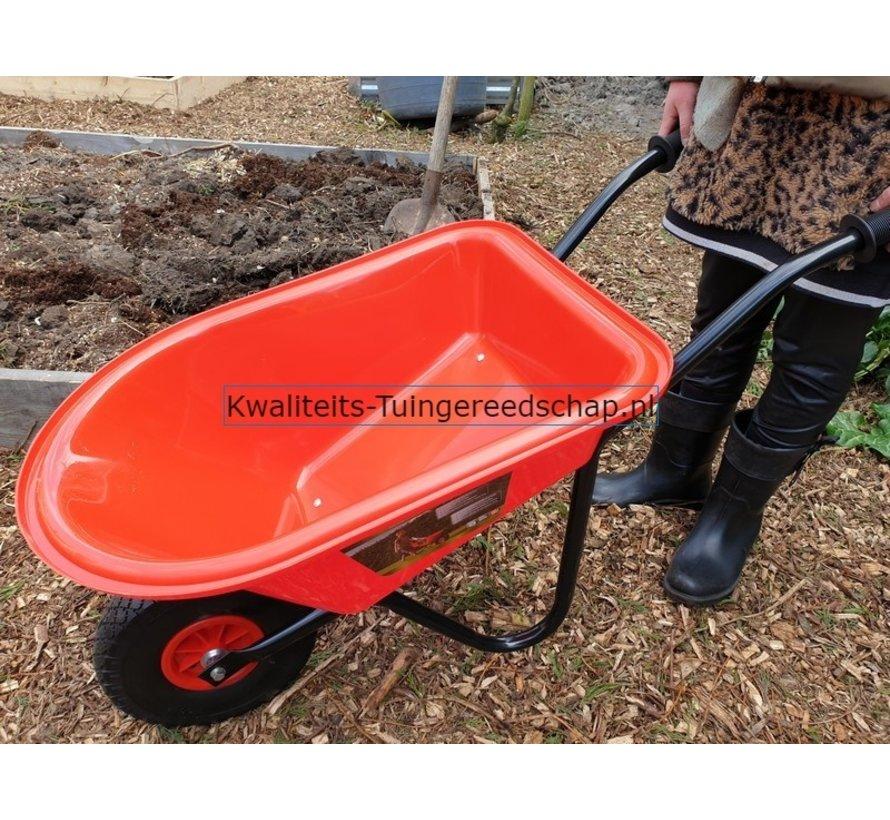 Kinderkruiwagen Rode Kuip met Luchtbandwiel