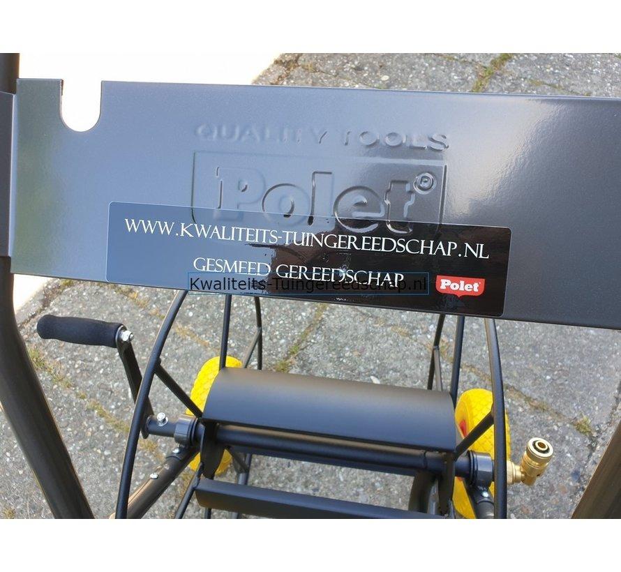 """Professionele Slangenwagen Flatfree Capaciteit 3/4""""-85 m"""
