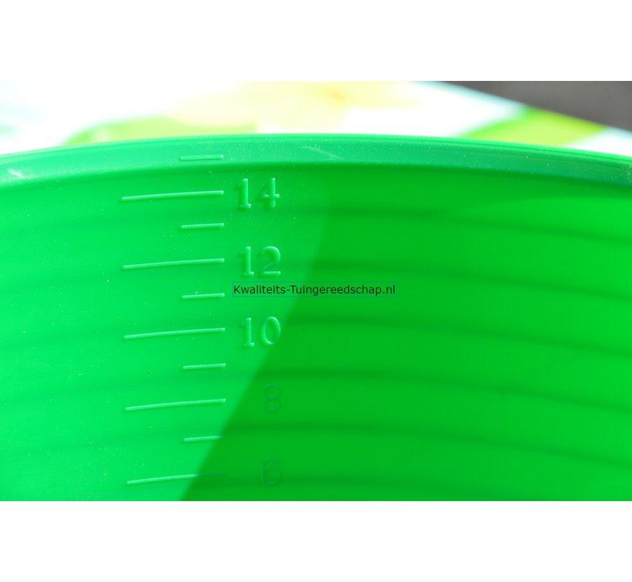 Tubtrug  15L H16-D39 (Groen)