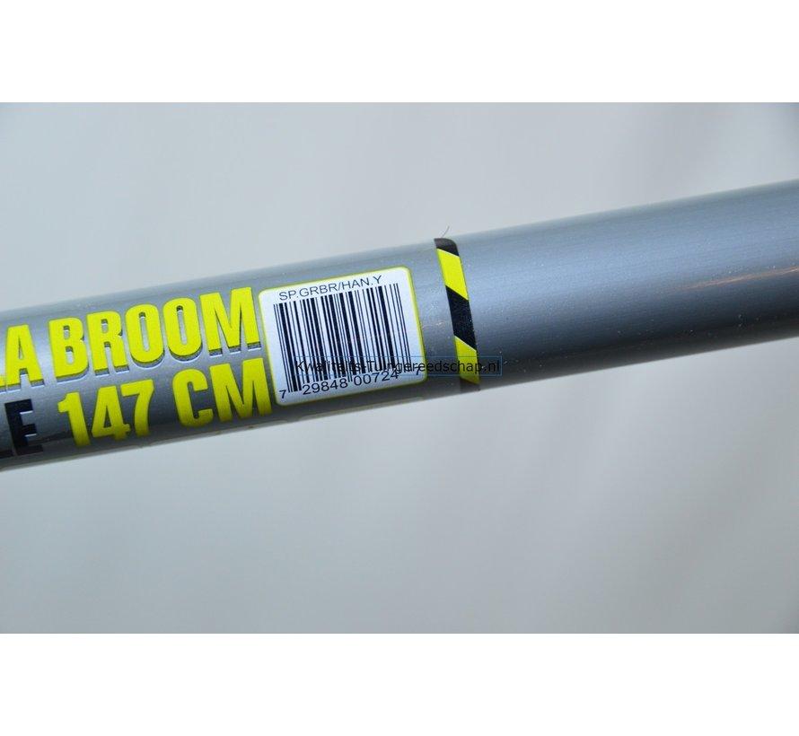 Gorilla Bezem steel 147 cm geel