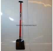 Polet Betonschop Gesmeed 290 x 220 mm Afgeronde hoeken  met Fiber steel