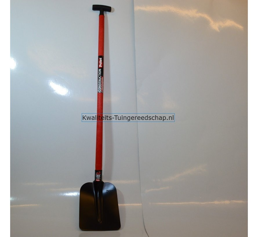 Betonschop Gesmeed 290 x 220 mm Afgeronde hoeken  met Fiber steel