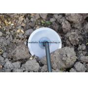 De Pypere Handgesmede Rondschoffel Essen steel 1400 mm