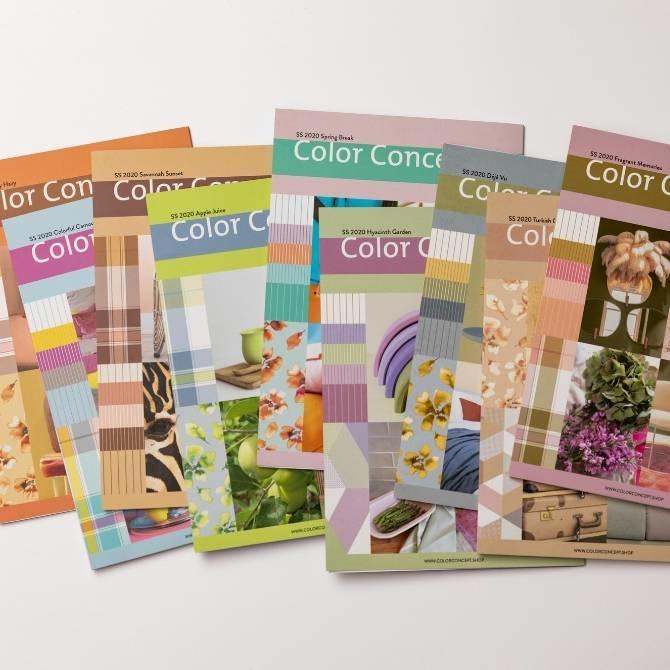 Spring/Summer 2020 Color Harmonies