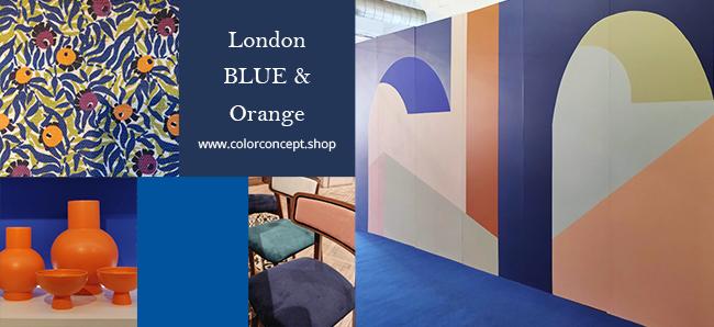 London Orange & Blue