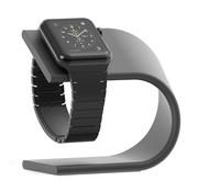 REBL Elegante Aluminium Standaard / dock voor de Apple Watch - Donker Grijs