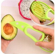REBL Multifunctionele 3 in 1 Avocado snijder - Eenvoudig avocado reepjes snijden