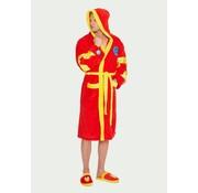 Marvel Officiële Marvel: Iron Man badjas met capuchon | One size