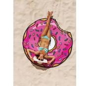 BigMouth Beach Blanket / Strandlaken Strawberry Donut 1.5m