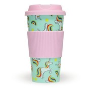 Fizz Creations Unicorn Travel Mug 470 ml - Coffee to go mok
